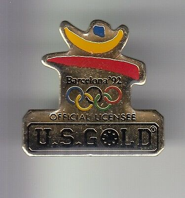 Rare Pins Pin's .. Olympique Olympic Jeux 1992 Team Us Gold Barcelone Espagne~17