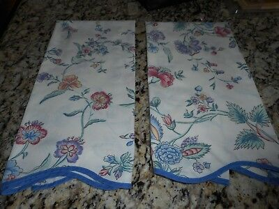 Laura Ashley Pair Of Pillowcases Floral