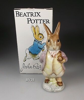 BEATRIX POTTER royal doulton BESWICK MR BENJAMIN BUNNY FIGURINE - BOX