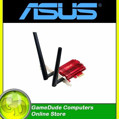 ASUS PCE-AC56 Wireless AC1300 Dual Band Wi-Fi PCI-Express Adapter 1300Mbps [F33]