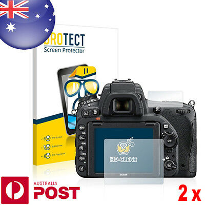 2x BROTECT® HD-Clear Screen Protector for Nikon D750 - P079A