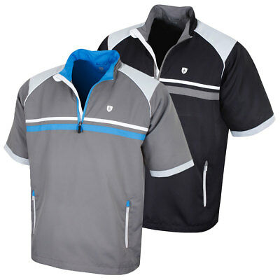 Island Green Mens 2018 Water Repellent Wind Stopper Thermal Golf Top 30% OFF RRP