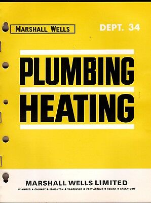 Marshall Wells Catalog 1967 Plumbing & Heating wolc6