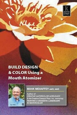 Build Design & Color Using a Mouth Atomizer by Mark Mehaffey - Art Education DVD