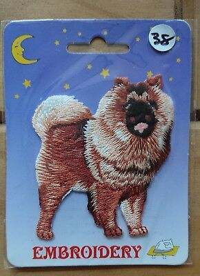 DOG Embroidery Iron On Patch - Chow Chow  Dog