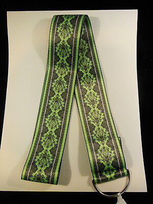 Disney  Haunted Mansion  Wall Paper  Extra Wide Lanyard     New  With Tag