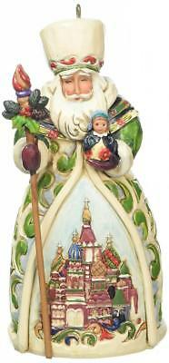 Enesco 4022942 Suspension Père Noël Russe Résine 12,5 cm