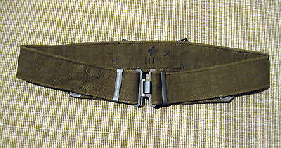DANISH ARMY p37 PISTOL BELT WEB