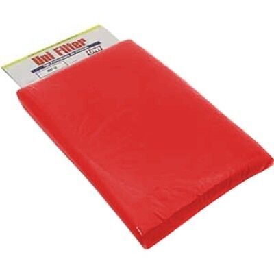 "Filter Foam Sheet 12"" X 16"" X 3/8"" 40 PPI Red Coarse Foam Uni Filter BF-5"
