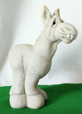 "Vintage 2003 Quarry Critter ""Dingo"" the Donkey, Second Nature Designs, #49006"