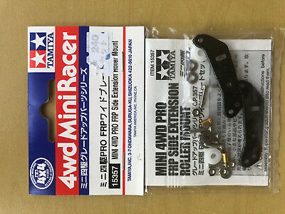 Upgrade Parts for Tamiya Mini 4WD 15357 Mini 4WD FRP Side Extension Roller Mount