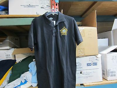 Chicago  Police Embroidered Polo Shirt   Med