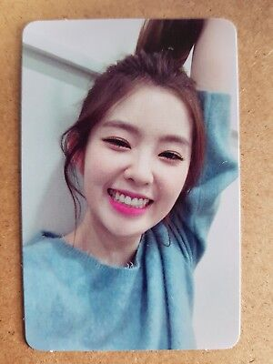 RED VELVET IRENE Authentic Official PHOTOCARD [THE VELVET] 2nd Mini Album 아이린