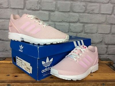 ADIDAS LADIES UK 4 Eu 36 2 3 Weiß Rosa Lizard Leather Superstar ... Mode vielseitige Schuhe