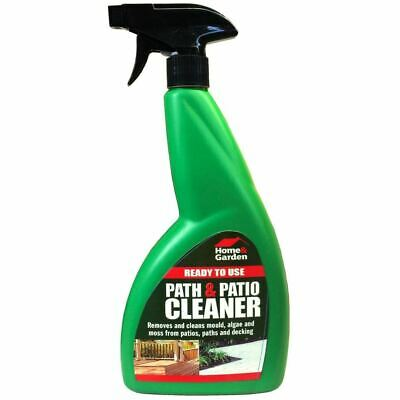 Path Patio Outdoor Decking Spray Cleaner Cleans Mould Algae Moss Dirt - 800ml