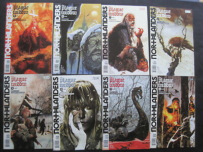 "NORTHLANDERS 21-28, ""The PLAGUE WIDOW"" : COMPLETE 8 ISSUE STORY. DC VERTIGO.2008"