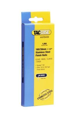 TACWISE 1097 38mm S/S 16g Straight Brads (1000) Makita DBN600