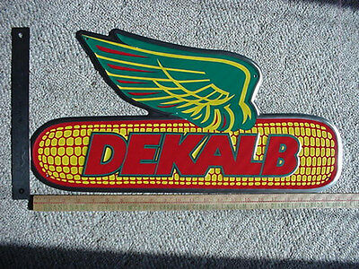 DEKALB SEED SIGN  , Aluminum,  Embossed,  Colorful