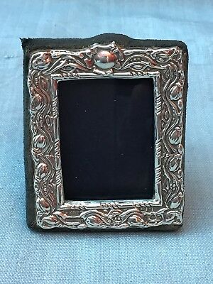 Vintage KEYFORD FRAMES LTD London HM Sterling Silver Easel Back Photo Frame