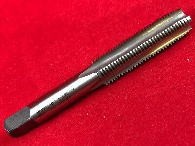 Morse 38022 M12 X 1.25 12MM PLUG High Speed Steel hand tap USA Made D5