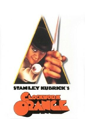 CLOCKWORK ORANGE MOVIE POSTER, USA Version (Size 24 x 36)
