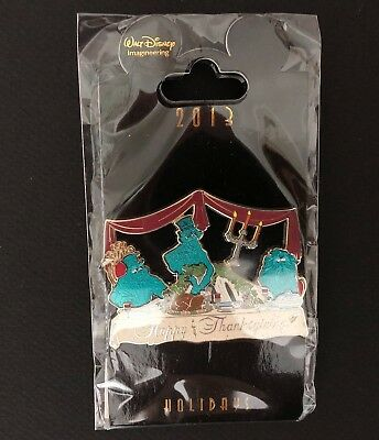 WDI - Happy Thanksgiving - Haunted Mansion Hitchhiking Ghosts -  LE 250 Pin