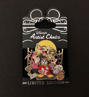 WDW - Artist Choice - Nightmare Before Christmas - Mickey & the Gang LE 1200 Pin