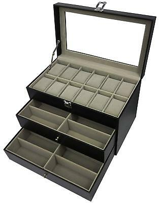 ORIGIA For 12 Glasses And Watches Sunglasses Box Eyewear Accessories Display