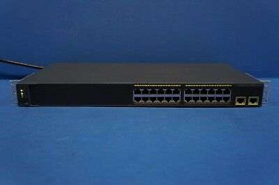 Cisco Catalyst 2960 Séries WS-C2960-24TT-L V09 24 Port Lan Interrupteur Rackable