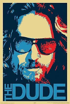BIG LEBOWSKI THE DUDE POSTER, (Size 24x36)