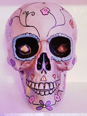 Sugar Skull  Day of the death handpainted