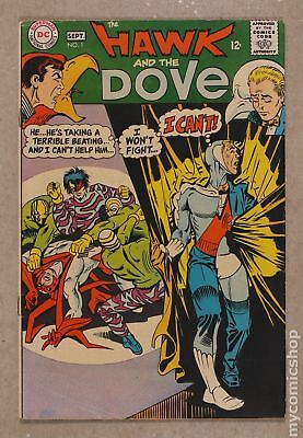 Hawk and Dove (1st Series) #1 1968 VG 4.0