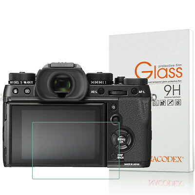 Nacodex For Fujifilm X-T2 X-T1  Tempered Glass Screen Protector