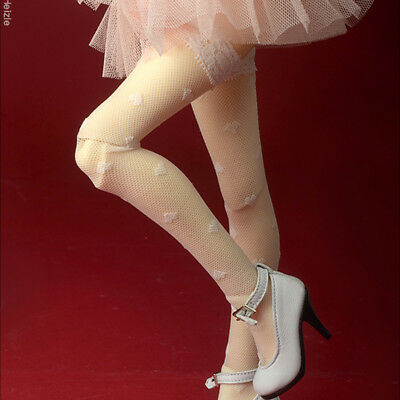Dollmore 1/4 BJD Underwear socks  MSD - My Heart BH Band Stocking (Ivory)