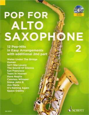 Pop for Alto Saxophone Band 2 für 1-2 Alt-Saxofon(e) Noten mit CD