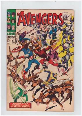 Avengers # 44  All-Out Action Issue !   grade 5.5 scarce book !