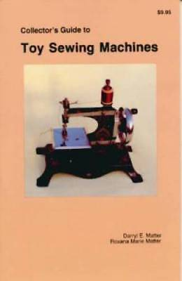 Toy Sewing Machine ID$ Book Singer Casige KAYanEE MORE