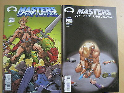 MASTERS of the UNIVERSE  VOL 1, 2003 IMAGE SERIES : set of BOTH issue 4 VARIANTS