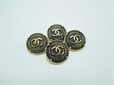Chanel Button Replacements Lot of 4 -  20 MM
