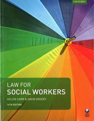 Law for Social Workers by Helen Carr 9780198783459 (Paperback, 2017)