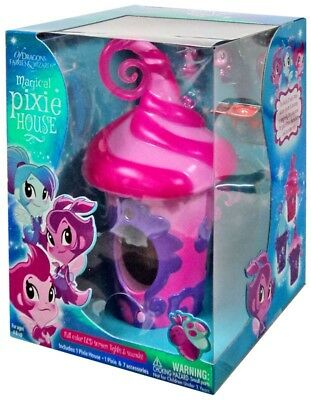 Of Dragons, Fairies & Wizards Pink Magical Pixie House