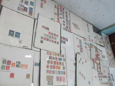 Nystamps British Colonies New Zealand Middle E. large old stamp collection