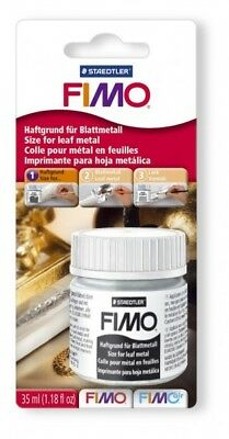 Staedtler Fimo Size Adhesive Glue For Leaf Metal To Go On Modelling Clay - New
