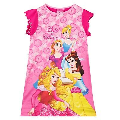 Disney Princess Nightdress I Girls Princess Nightie I Kids Disney Pyjamas