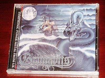 Grimgotts: Extenditus Playus / Here Be Dragonlords CD 2016 Stormspell USA NEW