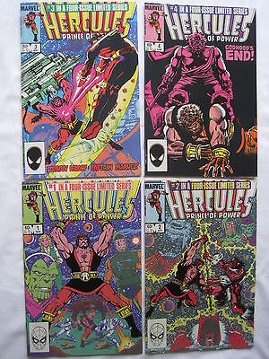 HERCULES : COMPLETE 4 ISSUE THOR SERIES by BOB LAYTON. MARVEL.1984