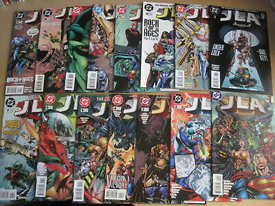 JLA  #s 1 - 41, COMPLETE GRANT MORRISON RUN of the 1997 DC JUSTICE LEAGUE SERIES