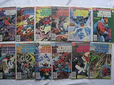 JEMM, Son of Satan : COMPLETE 12 ISSUE SERIES by POTTER, COLAN & JANSON. DC.1984