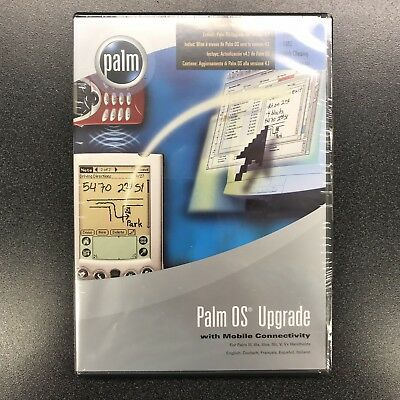 Palm OS Upgrade to V4.1 NEW in Package SEALED for Palm III, IIIx, IIIxe, V, Vx