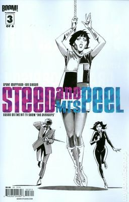 Steed and Mrs. Peel (1st Series) #3A 2012 FN Stock Image